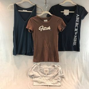 Abercrombie & Fitch Tee shirts and Tank size small